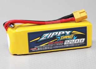 Lipo 25C Paquete ZIPPY Compacto 2200mAh 4S