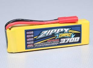 ZIPPY Compacto 3700mAh 3S Lipo 25C Paquete