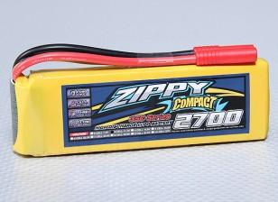 ZIPPY Compacto 2700mAh 3S Lipo 35C Paquete