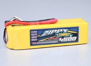 ZIPPY Compacto 4500mAh 6S Lipo 35C Paquete