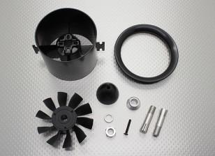 10 Cuchilla de alto rendimiento de 70 mm Unidad de EDF conductos del ventilador