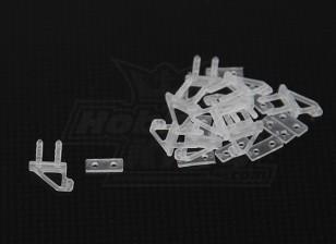Micro Cuerno Tamaño D (9 mm x 10 mm - 10 piezas)