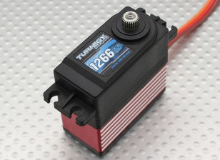 Turnigy ™ 1266HV titanio de alta tensión / DS / 1kg MG Servo / 0.08sec / 57g