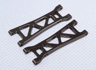 Suspensión del brazo Set L / R traseras (2 unidades / bolsa) - 1/10 sin escobillas 2WD Desert Racing Buggy - A2032 y A2033