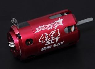 Turnigy TrackStar SCT 5.5T Sensored 3750KV motor sin escobillas (550 tamaño)