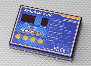 Tarjeta de programación HobbyKing Barco ESC