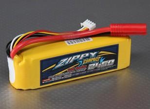 ZIPPY Compacto 2450mAh 3S Lipo 35C Paquete