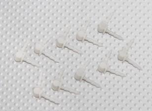Hobbyking Bixler 2 OEP 1500 mm - Reemplazo de alerón bisagras (10pcs / bag)
