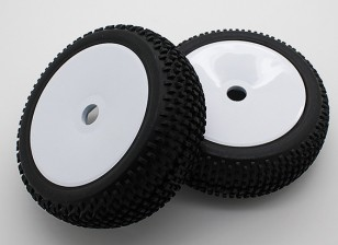 1/8 Off-road buggy rueda / neumático de 17 mm Hex (2pcs / bolsa)