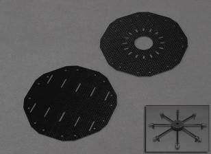 Turnigy Talon Octocopter placa de ajuste.