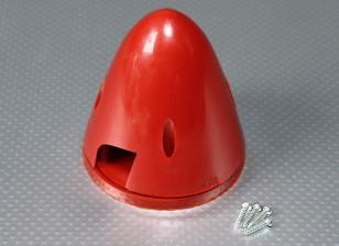 83mm Nylon Spinner (rojo)