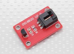 Digital de temperatura del módulo del sensor DS18B20 V2.0