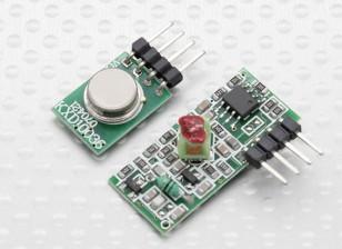 315RF Módulo Transmisor inalámbrico y el módulo receptor inalámbrico