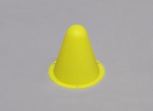 Plástico Racing Conos por / C Car Track R o la desviación del curso - Amarillo (10pcs / bag)
