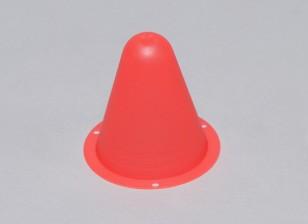 Los conos de plástico para Racing / C Car Track R o el acarreo de golf - rojo (10pcs / bag)