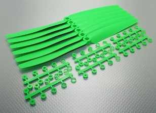 GWS EP hélice (HD-1260 305 x 152 mm) verdes (6pcs / set)