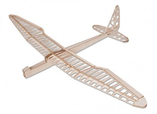 Sunbird eléctrico Velero Laser Cut Balsa 1600mm Kit (Kit)