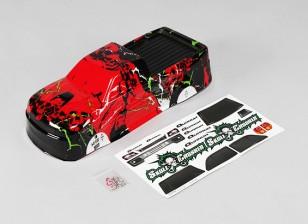 1 10 Quanum Skull Crusher Cuerpo (rojo) - A2032