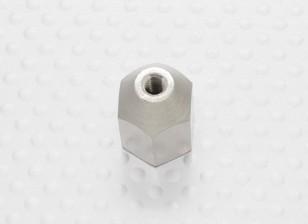 Tuerca de latón para Spinners M8x1.25-M4