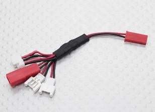 Multi-Plug cable de carga para la Micro Modelo Baterías (Walkera / NE / Pico / E-Flite / JST)