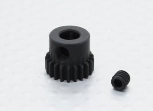 21T / 5 mm de acero templado 48 Pitch engranaje de piñón