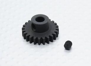 24T / 5 mm de acero templado 32 Pitch engranaje de piñón