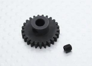 25T / 5 mm de acero templado 32 Pitch engranaje de piñón