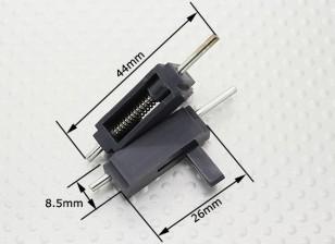 Dosel Locks - 26x8.5x8mm 2pcs