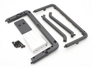 Basher Nitro Circus MT - Cubierta del filtro, marco y soporte trasero (parte del cuerpo)