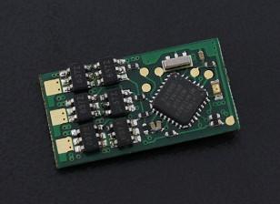 HobbyKing 7A YEP (1 ~ 2S) regulador de la velocidad sin escobillas (Versión sin cables)