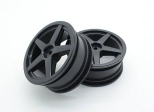 Tóxico Nitro - las ruedas delanteras
