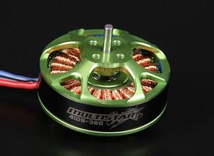 4108-380KV Turnigy Multistar 22 Polo sin escobillas Multi-rotor del motor con cables extra largas