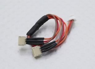 Micro JST (Molex) 1.0mm Pitch Y Plomo (1 unidad)