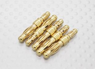HXT 4 mm a 3,5 mm (macho a macho) adaptador (5 piezas)