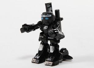 2 canales Mini R / C Batalla Robot con el cargador (Negro)