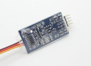 El Dr. Mad 4 canales de empuje electrónica de encendido / apagado