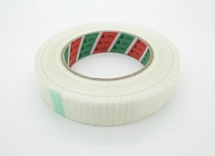 Alta resistencia a cuadros de fibra de cinta. 24.5mm x 50m