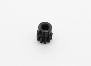 10T / 5 mm de acero templado M1 engranaje de piñón (1 unidad)