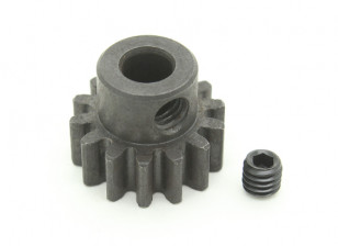 14T / 5 mm de acero templado M1 engranaje de piñón (1 unidad)