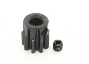 9T / 5 mm de acero templado M1 engranaje de piñón (1 unidad)