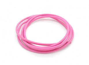 Turnigy Pure-silicona de alambre de 16 AWG 1m (rosa)