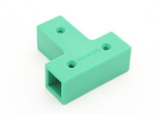 RotorBits Conector en T (verde)