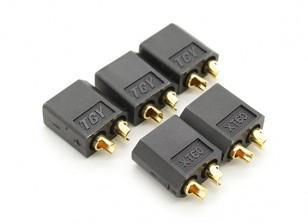 Negro XT60 Hombre (5 piezas)