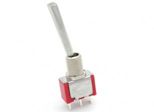 FrSky reemplazo 2 Posición Larga Interruptor con planos de palanca para el transmisor Taranis