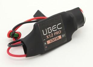 12V 3A UBEC - 2 ~ 5S Li-Po (6-23v)