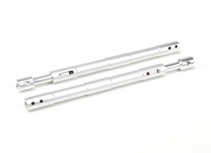 Aleación recta Oleo puntales 140 mm (2pcs)