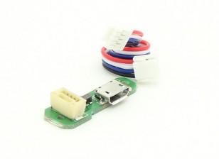 Walkera QR X350 Pro Quadcopter - placa USB Micro (1 unidad)
