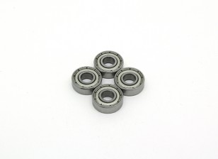 Bola 5x13x4mm cojinete (4pcs) - BSR Racing BZ-222 1/10 2WD Buggy Racing