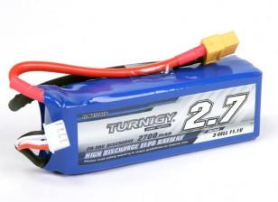 Turnigy 2700mAh 3S 20C Lipo Pack (Adecuado para Quanum Nova, Fantasma, QR X350)