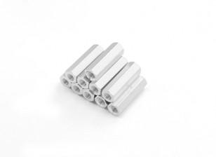 Sección de aluminio ligero Hex Spacer M3 x 17 mm (10pcs / set)